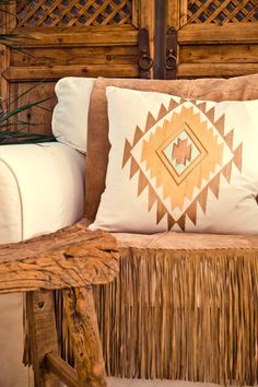 Kilim pillow cover in natural colours