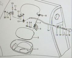 911 107 072 02 Engine Oil Filler Cap German 911-107-072-02 Bayonet Type Cap