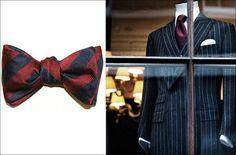 El Aristócrata: El regreso de dos clásicos: la corbata de lazo y la chaqueta cruzada