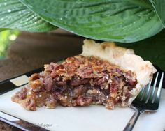 This is the best pecan pie you will ever eat! We love pecans and we love pie. But pecan pie.... there was just too much goo a...