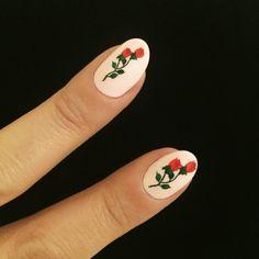 nataliepavloskinails:  A dozen red roses for you