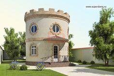 проект круглого дома Супердомс