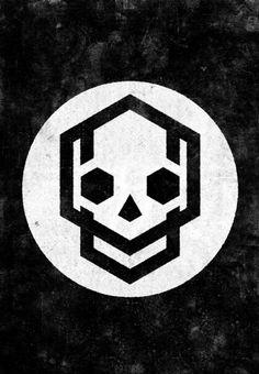 different eye shapes 323696291952979543 - Symmetrical Balance Plus Source by gachavanne Icon Design, Design Art, Web Design, Logo Design, Logo Typo, Logo Branding, Skull Logo, Skull Art, Skull Stencil