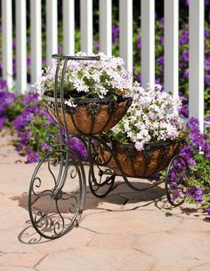 Two tier tricycle Planter (1) From: eBay, please visit