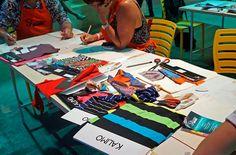 SEMANA DESIGN RIO | 2 de setembro 2016 | Colagem Têxtil com Daniela Brum e Wagner Campelo.