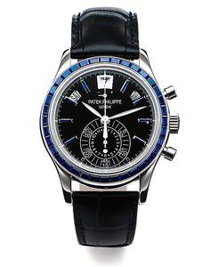 The 5 Top Patek Philippe Watches in Antiquorum's June Watch Auction: Patek Philippe Philippe Ref. 5961P (Lot 115)
