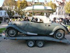 Traction Coupé Citroën emmurée pendant près de 40 ans - YouTube