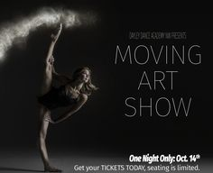 "Dayley Dance Academy Prepares for ""Moving Art Show"" - https://lacamasmagazine.com/2017/10/dayley-dance-academy-moving-arts-show.html"