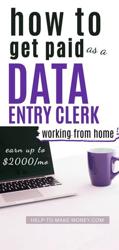 Jobs From Home Discover Legitimate work at home data entry jobs Looking for data entry jobs from home? Heres a complete guide to becoming an online data entry clerk and 9 companies that hire. Earn Money From Home, Earn Money Online, Way To Make Money, Earning Money, Online Data Entry Jobs, Online Jobs, Work From Home Opportunities, Work From Home Tips, Data Entry Clerk