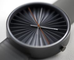 So masculine. Love it. Plicate watch by Benjamin Hubert
