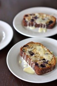 Plan to try Blueberry Walnut Amish Friendship Bread with Lemon Glaze.