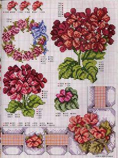 схемы вышивки крестом кухонные миниатюры сэмплеры