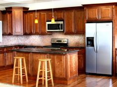 17 best cinnamon maple cabinets images maple cabinets canela rh pinterest com