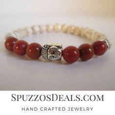 Handsome Red Coral and Howlite with Buddha Bead Bracelet. Are you looking for fun jewelry and other items. Check out SpuzzosDeals.com  #jewelry #spuzzosdeals #necklace #necklaces #bohostyle #bohostyles #hippie #hippies  #neckless #bohostyles #bracelet #bracelets #surfers #surfing  #mensbracelet #mensbracelets #hippiestyle  #hippiechic  #bohemianfashion  #bohemianjewelry #bohemianstyle #gypsystyle #chakrahealing #braceletlove #braceletoftheday #menstyle  #wristporn  #armcandy  #armswag…