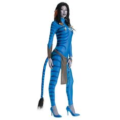 Neytiri Avatar Costume for sale online. Buy Avatar womens costume now with fast and easy delivery. Womens Avatar Costume and Mens Avatar costume are a perfect couple costume! Avatar Halloween Costume, Avatar Costumes, Cool Halloween Costumes, Halloween Outfits, Adult Costumes, Costumes For Women, Adult Halloween, Women Halloween, Halloween Night