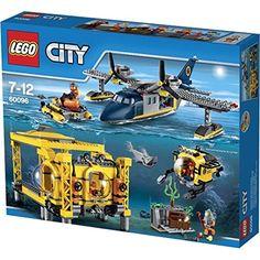 LEGO City - Nouveautés 2015 - La base opérationnelle en haute-mer - 60096: Amazon.fr: Jeux et Jouets