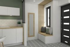 Pied à terre chic et moderne, rénovation, appartement, canut, Lyon 04, croix rousse, aménagement, décoration, architecture intérieure, agence LANOE Marion