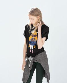 PRINTED T - SHIRT - T - shirts - WOMAN | ZARA United States