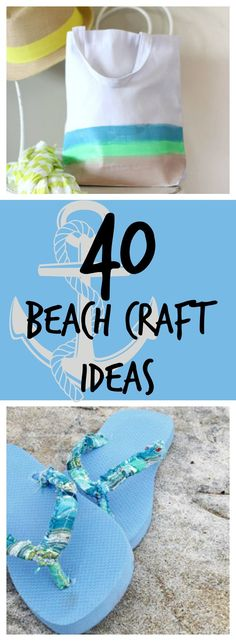 Sizzlin' Summer Crafts: 40 Beach Craft Ideas | AllFreeHolidayCrafts.com