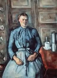 Coffee time by Paul Cezanne painting Woman and coffee pot D' Orsay Musem Paris France Paul Cezanne Donna con caffettiera 1895 Aix en Provence Cezanne Art, Paul Cezanne Paintings, Cezanne Portraits, Oil On Canvas, Canvas Art, Canvas Size, Art Africain, Cafetiere, Oil Painting Reproductions