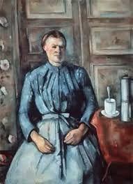 Cèzanne, Donna con caffettiera