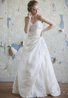 Ava, Ruche, $499.99, Wedding Dress