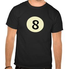 Billiard Ball 8 Tshirt