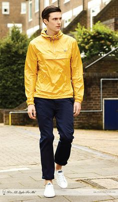 Fred Perry Cagoule spring version 2013