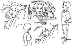 Film: Spirited Away (千と千尋の神隠し) ===== Character Design - Model Sheets: Mrs. Ogino ===== Hayao Miyazaki