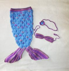 Crochet Mermaid prop for newborn Photography, Toddler Outfit, Ariel Costume Newborn Photography Props, Newborn Photo Props, Crochet Hook Sizes, Crochet Hooks, Mermaid Tail Costume, Ariel Costumes, Crochet Mermaid Tail, Mermaid Outfit, Blanket Crochet