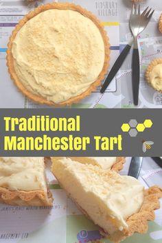 Rezept: Wunderbar mancunian Manchester Tart – HodgePodgeDays - My CMS Fun Desserts, Delicious Desserts, Dessert Recipes, Cake Mix Recipes, Baking Recipes, Custard Recipes, Baking Ideas, Manchester Tart Recipes, British Desserts