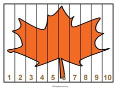 Diving Into Learning blog: Freebie1 fall theme math puzzles