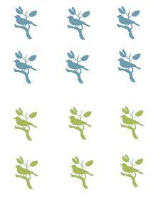 How to Make Custom Knobs - Birds - The Graphics Fairy