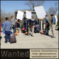 """Filming at a bus stop with actor Rusty Martin (""""Courageous"""").  #shortfilm #indiefilm #adoption #fostercare"""