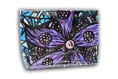 ART TO WEAR Handbags by Miami Artist Holly A. Jones. One of a kind, original hand painted, luxury collection handbag. To view collection, visit www.hollyajones.com