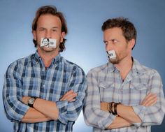 Supernatural: Richard Speight Jr. and Rob Benedict