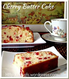 Cherries Butter Cake (樱桃牛油蛋糕)Cherries Butter Cake (樱桃牛油蛋糕)   GUAI SHU SHU#guaishushu #kenneth_goh#cherries_cake#cherries_butter_cake#butter_cake#樱桃牛油蛋糕