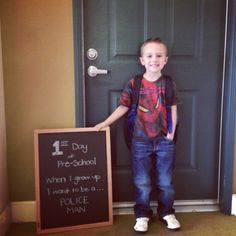 Jaden's 1st day of School!