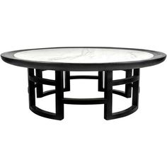 Marble and Lacquer Coffee Table after Harvey Probber, 1960s ($2,800) ❤ liked on Polyvore featuring home, furniture, tables, accent tables, 60s furniture, marble table, lacquer table, marble accent table and lacquer furniture