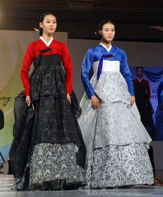 hanbok batik - Love it, combines two places I love!