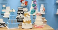 Wedding cakes by Fabulous Cakes & Confections