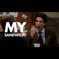 My sandwich?!