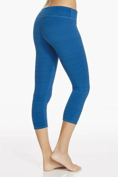 Artic Black Slub Salar Capri - Fabletics