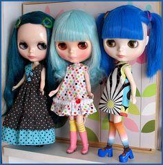 Emmaline, Opal and Mercy