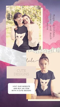Do you like cute designs of animals? Visit our website and find the design you like the most! New designs are coming! #cute #designs #cat #clothes #children Animal Design, Animal Kingdom, Cat, Website, Children, Animals, Clothes, Cute Designs, Animales