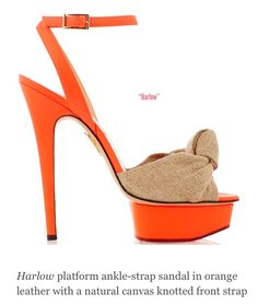 Charlotte Olympia Spring/Summer 2014