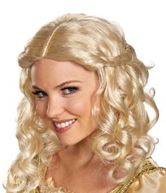 Disney Sleeping-Beauty title role deluxe Wig from Buycostumes.com