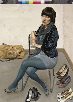 CHEN DANQING http://www.widewalls.ch/artist/chen-danqing/ #contemporaryrealism #realism