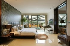 The Real BAPE suite at the Hotel Eclat in Beijing was designed by the cult fashion brand B...