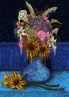 Beautiful Artworks by James R. Eads | Inspiration Grid | Design Inspiration
